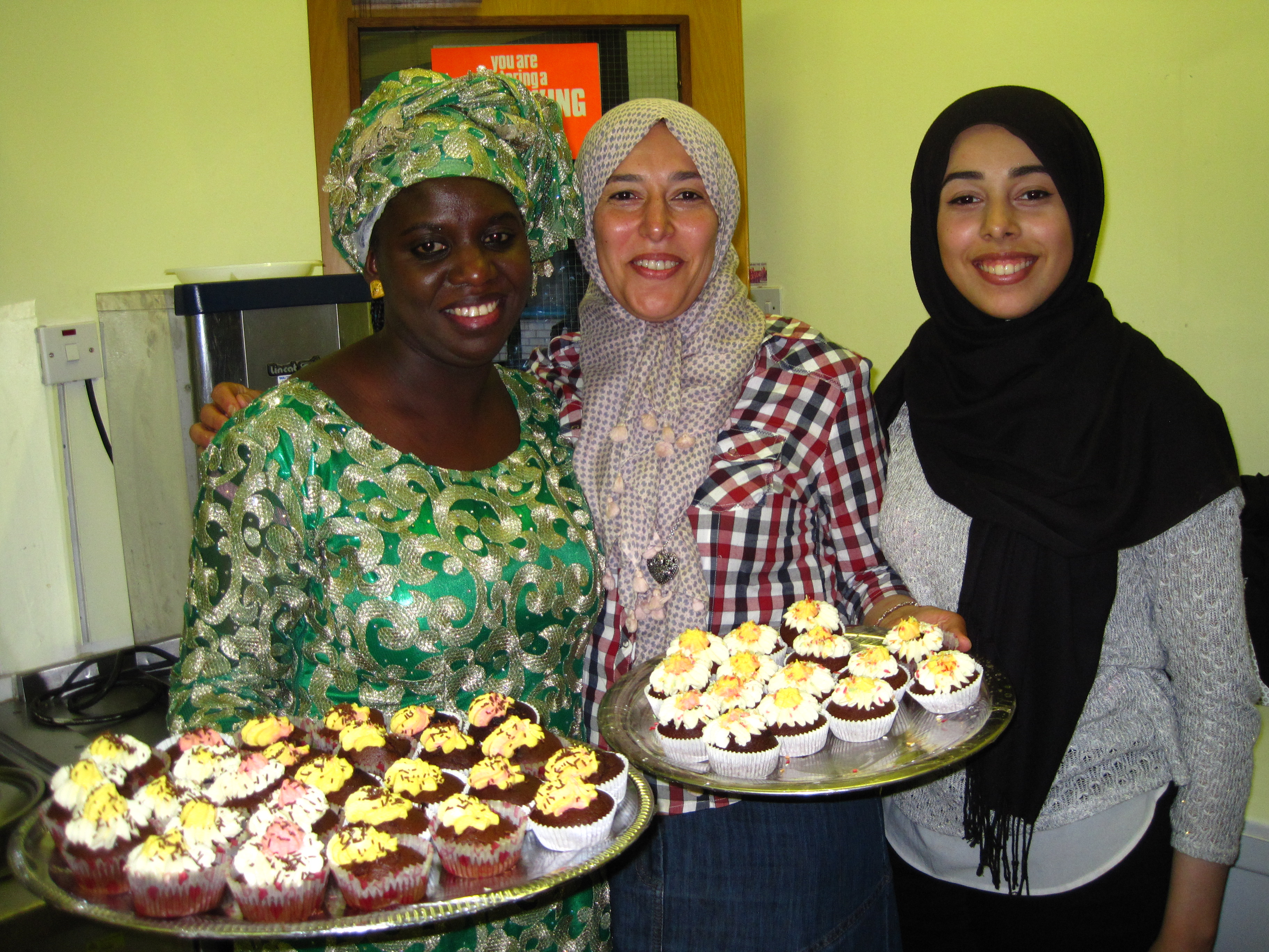 Celebrating Eid with a party at the DIWC