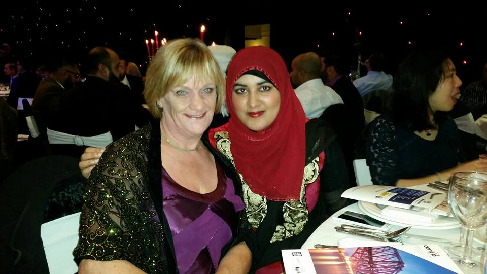 At the Ethnic Minority Impact Award
