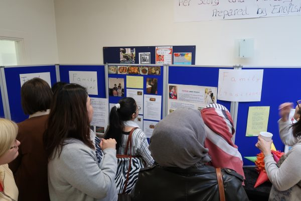 International Women's Week: English for Life class arrange an exhibition - 'Her Story and Heritage'