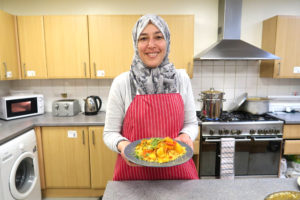 DIWC impact story - Balgeis in the kitchen