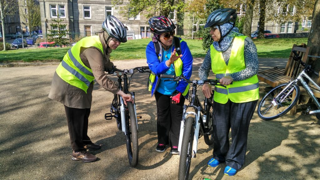 Women's cycling classes Dundee