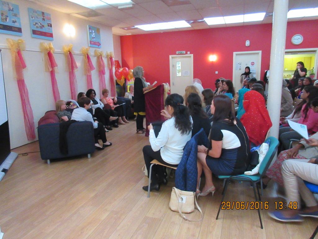 Graduation Dundee International Women's Centre DIWC