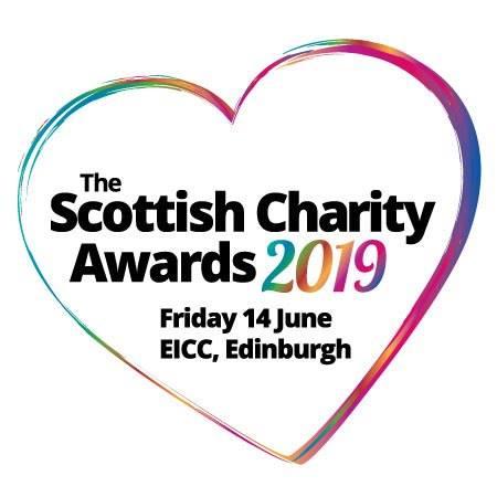 Scottish Charity Awards 2019 logo