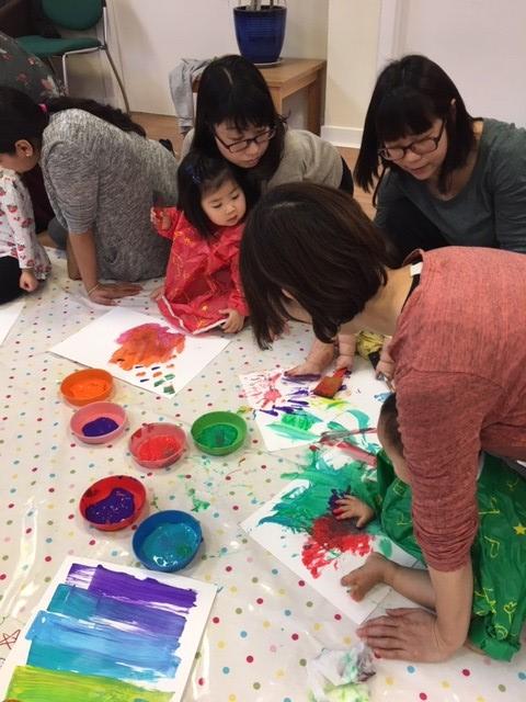 sensory art therapy in flourish
