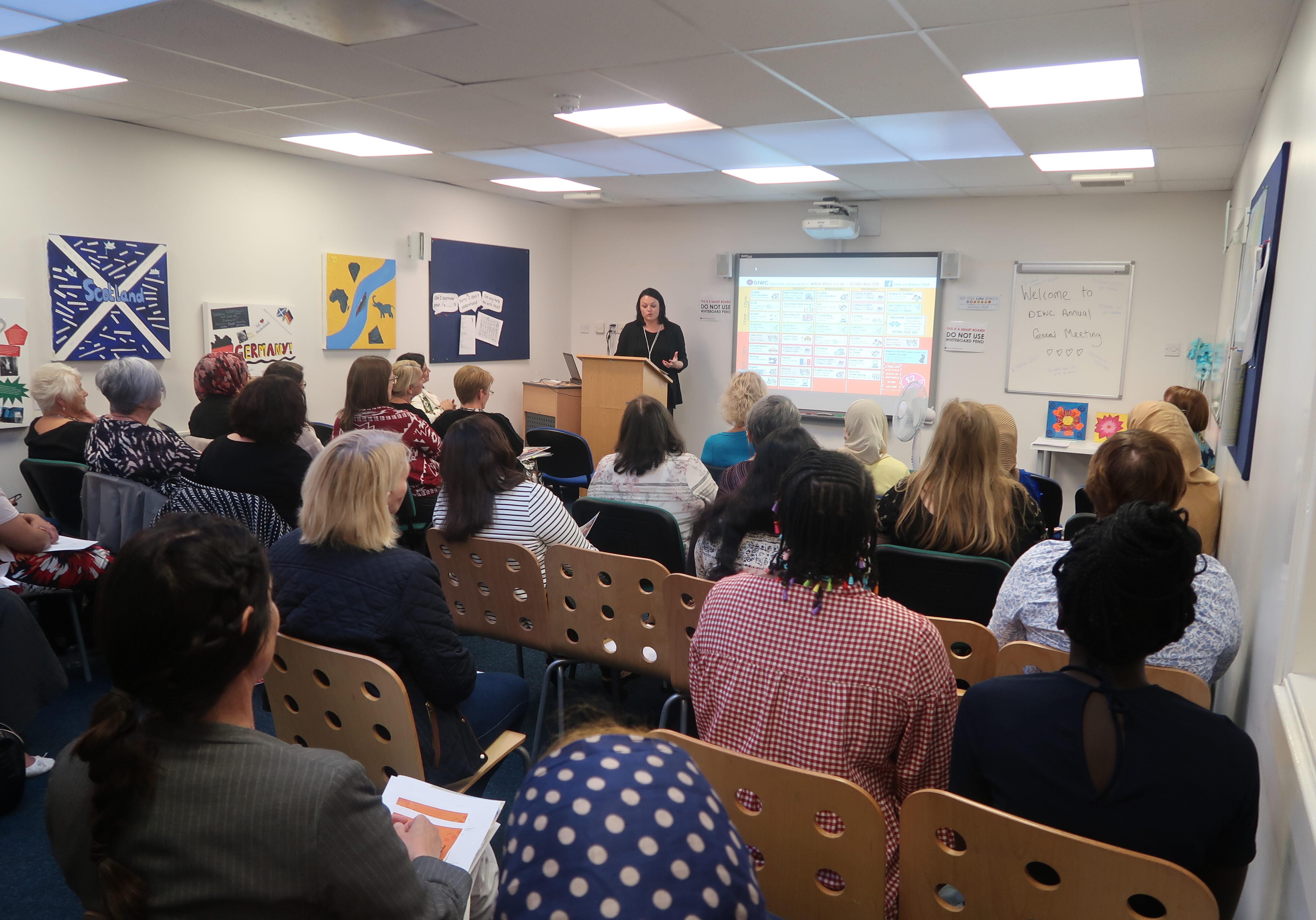 Dundee International Women's Centre AGM