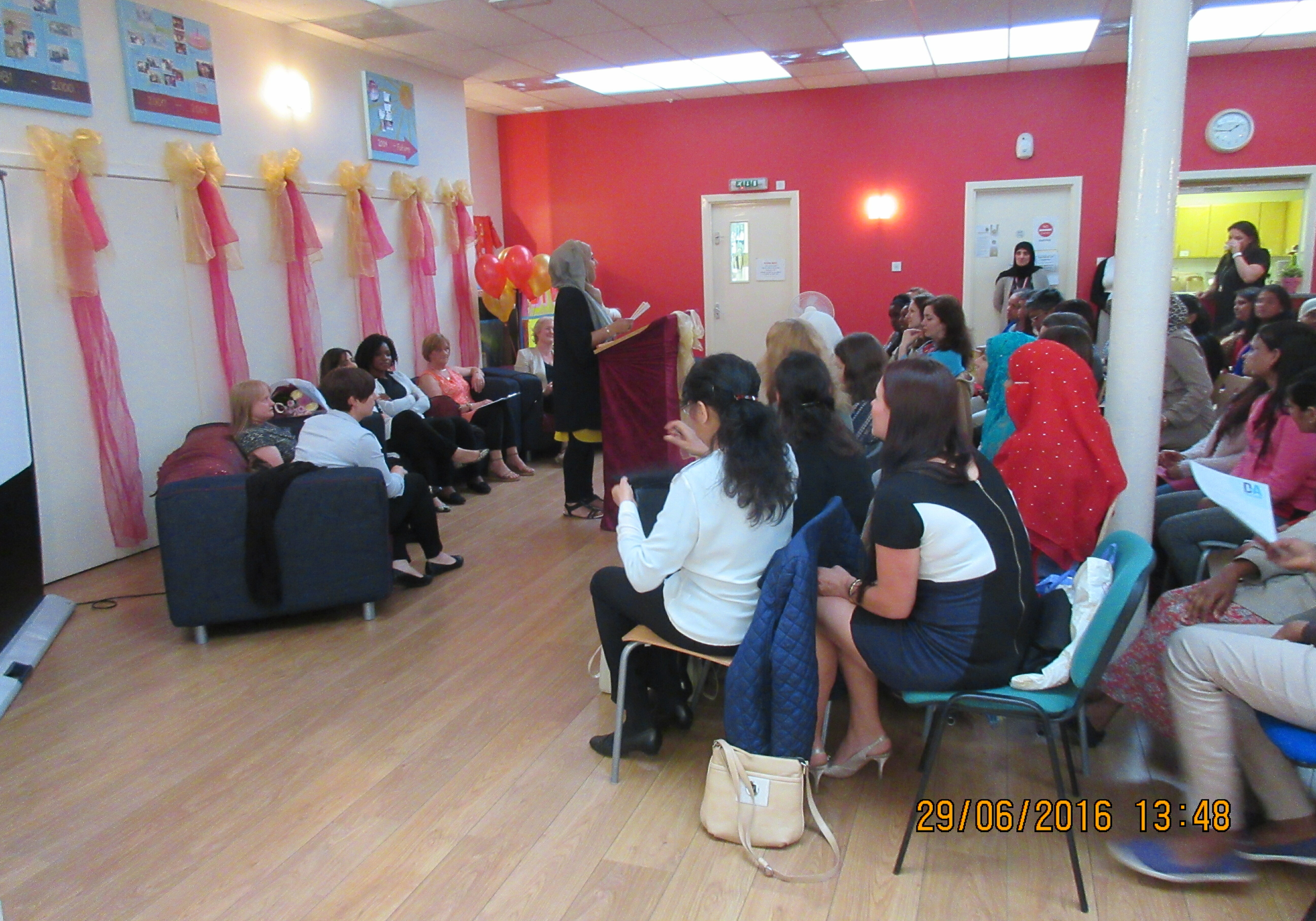 Graduation Dundee International Women's Centre DIWC