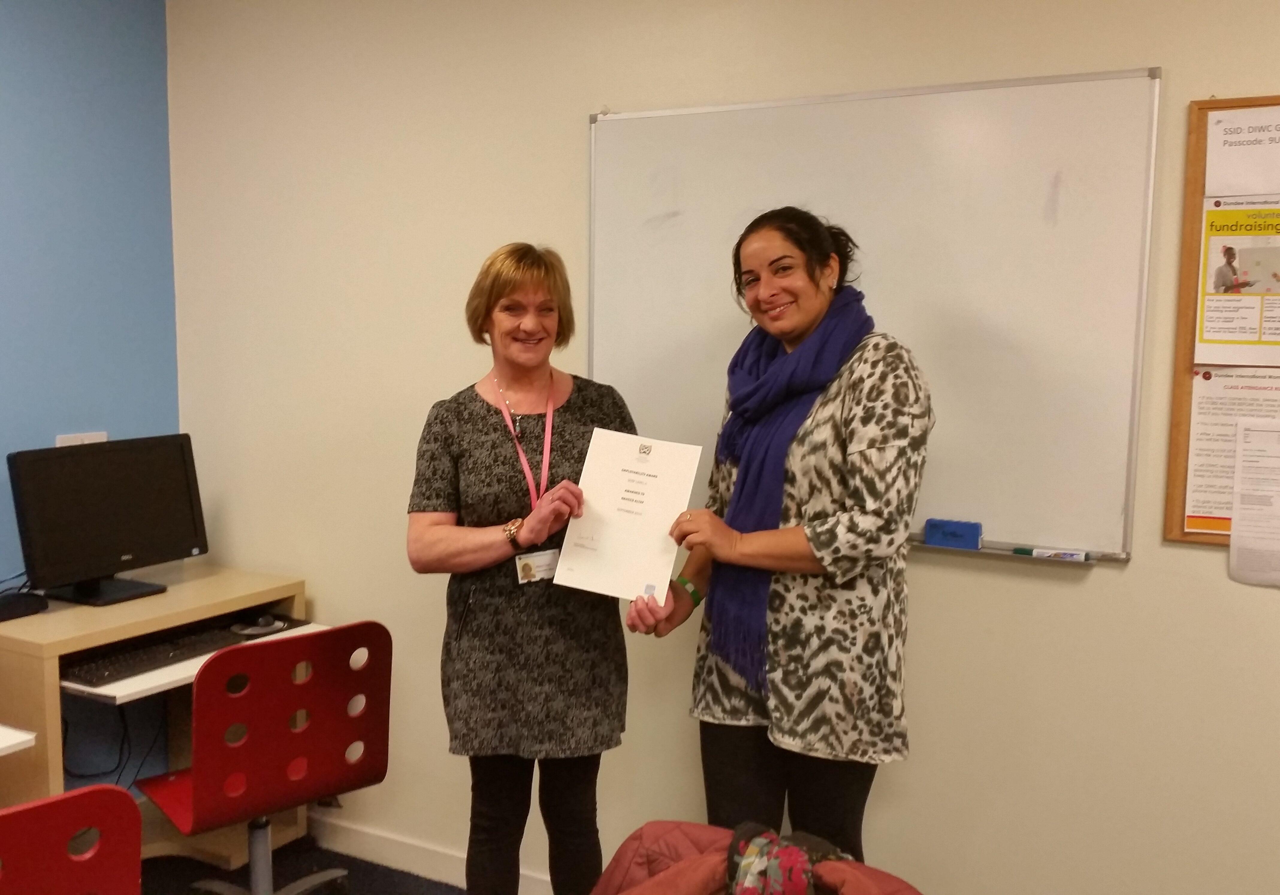 SQA Employability Award Dundee